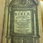 Title Page of Bible